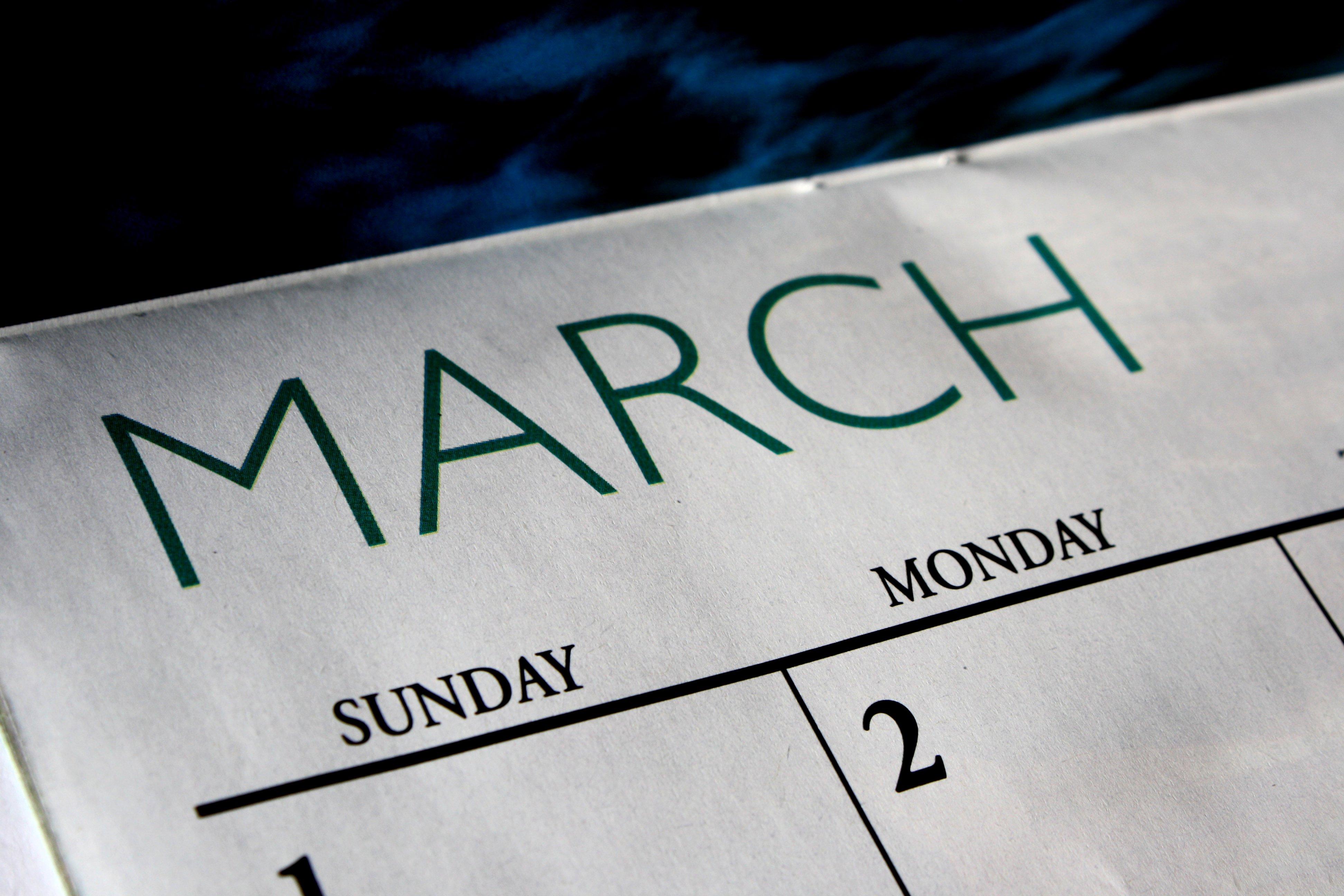 march blog fun flowery prose